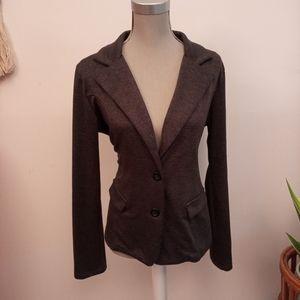 2/$20🥳 Grey blazer size Large